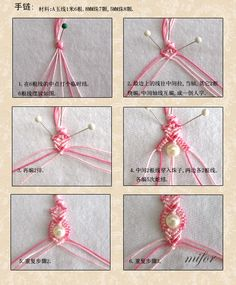 DIY Bracelet....it's in a different language, but i think i can figure it out from the picture