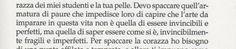 Alessandro D'Avenia, L'arte di essere fragili.