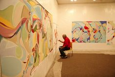 Canadian artist Alex Janvier @ TRU #1 by Thompson Rivers, via Flickr  Thompson Rivers University in Kamloops, BC, Canada    Aboriginal, First Nations, Native