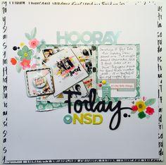 Hooray Today NSD - Scrapbook.com