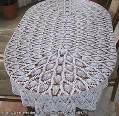 SANDRA CROCHE: Toalha de Mesa