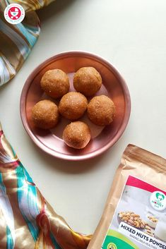 This Mixed Nuts Poha Ladoo recipe is the perfect healthy treat, made with organic jaggery and natural mixed nuts powder! Dessert Recipes For Kids, Healthy Dessert Recipes, Healthy Treats, Baby Food Recipes, Indian Food Recipes, Cooking Recipes, Cooking Food, Eating Healthy, Delicious Recipes