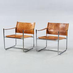 """KARIN MOBRING, ett par karmfåtöljer, """"Amiral"""" IKEA, modell formgiven 1969. - Bukowskis"""