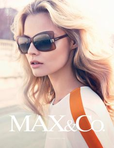 Magdalena Frackowiak and Josephine Skriver Don Elegant Style for the Max Fall 2012 Campaign