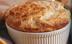Cheese Souffle, Souffle Dish, Side Recipes, Brunch Recipes, Parmesan, Kitchen Hacks, Apple Pie, Spinach, Muffin