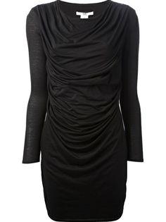 HELMUT LANG - draped dress 6