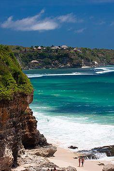 Dreamland beach in the Bukit, Bali