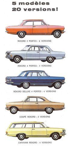 Opel Rekord - 1965