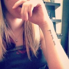 Que Sera Sera Tattoos