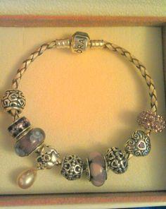 My Pandora braslet with Pandora & Soufeel sharms