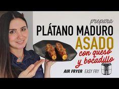 Cómo hacer PLÁTANO MADURO ASADO en #AirFryer con QUESO Y BOCADILLO | Receta Fácil - YouTube Dinner Sides, Air Fryer Recipes, Fries, Liliana, Beef, Vegetables, Easy, Food, Youtube