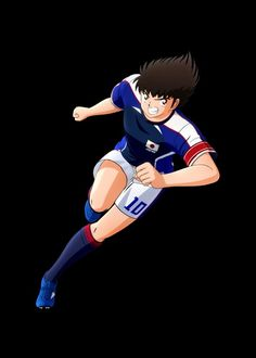 Medvedeva, Captain Tsubasa, New Champion, Anime Films, Mario, Batman, Posters, Sports, Fictional Characters