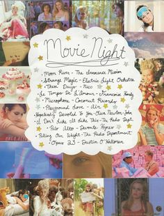 Movie Night: A Playlist by Hope Lennox curatedclothing.blogspot.com