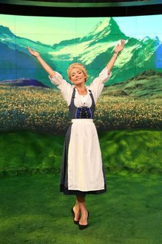 Pin for Later: The All-Time Best Celebrities in Pop Culture Costumes Maria From The Sound of Music Ripa dressed up as Maria from the musical classic in 2014.