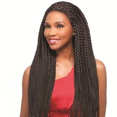 Sensationnel Empress Braided Lace Front Edge SENEGAL MAXI BRAIDS (Hand Braided)