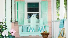 Pretty Pink Porch   This Caribbean colonial was rescued from ruin by renovation guru Trish Becker. Step inside and get her top tips for giving a neglected beach house a new lease on life.