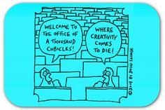 10 ways to kill creativity at your company