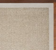 entry hall rug Custom Sisal Rug - Silver Topaz | Pottery Barn