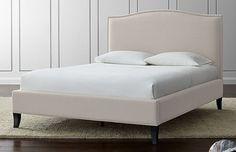 Crate & Barrel Queen Upholstered Colette Bed in Midtown, Manhattan ~ Krrb Classifieds