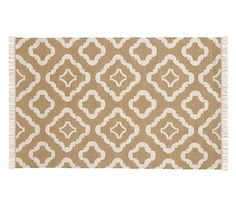 Lily Indoor/Outdoor Rug - Neutral | Pottery Barn MAYBE WITH A PREMIUM RUG PAD? Would want to try a sample in house to see if cushy enough?
