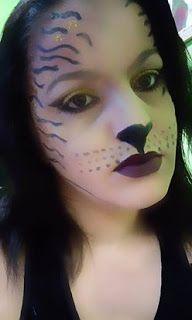 Penteadeira da Ana: Aspirante a Tigresa ( SUGESTÃO CARNAVAL)