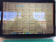 """constantine-spiritworker: """" I always make my study schedule my wallpaper because if I'm surfing the web or watching movies this will remind me that I have things to get done! Study Skills, Study Tips, Study Schedule, Best Nursing Schools, School Notes, School Tips, University Life, College Organization, Nursing Programs"""
