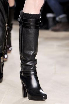 Belstaff boots (Fall 2013)