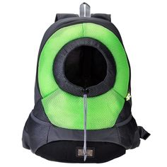 Yoption Portable Puppy Cat Travel Front Backpack, Breathable Mesh Head out Design Padded Adjustable Double Shoulder Straps Outdoor Pet Bag >>> Trust me, this is great! Click the image. : Cat carrier