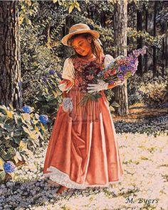 Melinda Byers-Girl Carrying Flowers