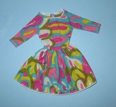 <0>Japanese Exclusive Barbie Dress Made From Black Francie's Swimsuit Material