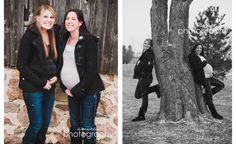 Best friends maternity photoshoot