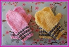 Winter is on it's way and the weather is changing here in the UK. It's getting much colder.      These cute little mittens are perfectfor...