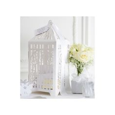Butterfly Birdcage Wedding Cards Post Box