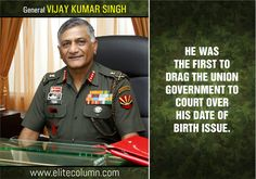 10 Facts About General VK Singh To Make Us Feel Proud
