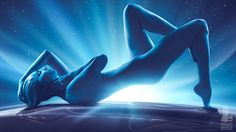 Asari from Mass Effect Andromeda