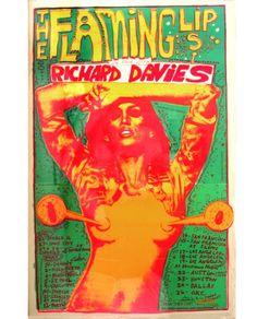 Wayne Coyne - The Flaming Lips Rock Posters, Band Posters, Concert Posters, Music Posters, Retro Posters, Festival Posters, Vintage Posters, The Flaming Lips, Music Artwork