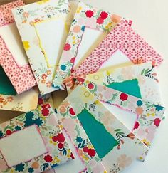 Hand made cards mini cards cherry blooms pink mini by wcards charcoal and white mini envelopes mini note cards business cards holders gift cards holders mini envelopes professional gift colourmoves