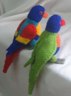 Toy Parrot - and pirate accessories