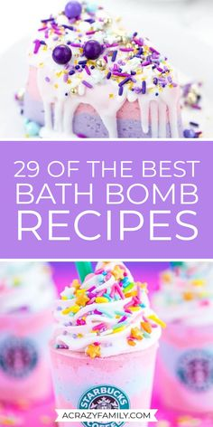 If you love to make your own bath bombs at home check out this super fun list of 29 easy to make bath bombs that you are sure to love! Diy Bath Bombs Easy, Best Bath Bombs, Fizzy Bath Bombs, Homemade Bath Bombs, Diy Body Scrub, Diy Scrub, Diy Beauty Care, Beauty Tips, Bath Fizzies