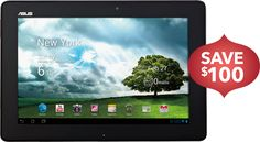 Best Buy Latest Deals - NOVEMBER 22-24, 2012 - Asus - Tablet with 16GB Memory - Black