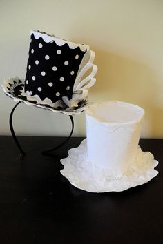 Items similar to Bachelorette Hat / Fascinators / Headband, -OR- a la carte, Mad Hatter Hat on Etsy Masquerade Party Themes, Top Hats For Women, Steampunk Top Hat, Fascinator Headband, Bridal Hat, Mad Hatter Tea, Black And White Tops, Hat Making, Tea Party