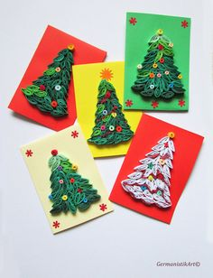 #quilling #christmas set