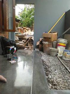 Kami penyedia jasa poles lantai acian semen untuk rumah gedung apartemen dll. Sekarang sudah banyak orang yang memakai lantai Acian semen.d... Ladder, Architecture, Modern, Arquitetura, Stairway, Trendy Tree, Architecture Design, Ladders