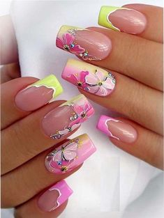 25 Pretty Spring Pink Nail Art Designs for 2018