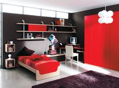 contemporary single bed 109 C Marka Industria Mobili
