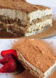Crostini with artichoke tapenade - Healthy Food Mom Sweet Recipes, Cake Recipes, Dessert Recipes, Tiramisu, Food Porn, Bakery, Sweet Treats, Cheesecake, Food And Drink