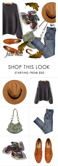 """""""fall hat"""" by paculi ❤ liked on Polyvore featuring Yves Saint Laurent, Cheap Monday, H&M, Hermès, vintage and shein"""