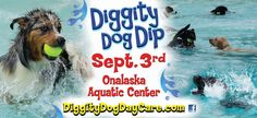 Mark your calendars everyone, especially if you own a dog! We will be one of #sponsors for this year's Diggity #Dog Dip in Onalaska on September 3rd! This is always a super fun event for the dogs & humans! #HotSpringSpas