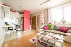 Mieszkanie na sprzedaż ul. Gromskiego 2 w Rzeszowie  - salon z aneksem kuchennym - cena mieszkania 220 000zł