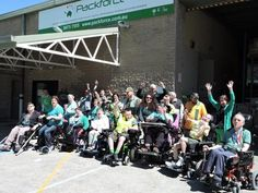 Packforce, a disability employment service in Sydney Australia, went green for World CP Day!